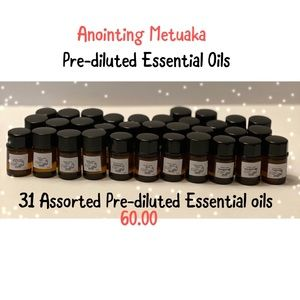 Pre-diluted essential oil